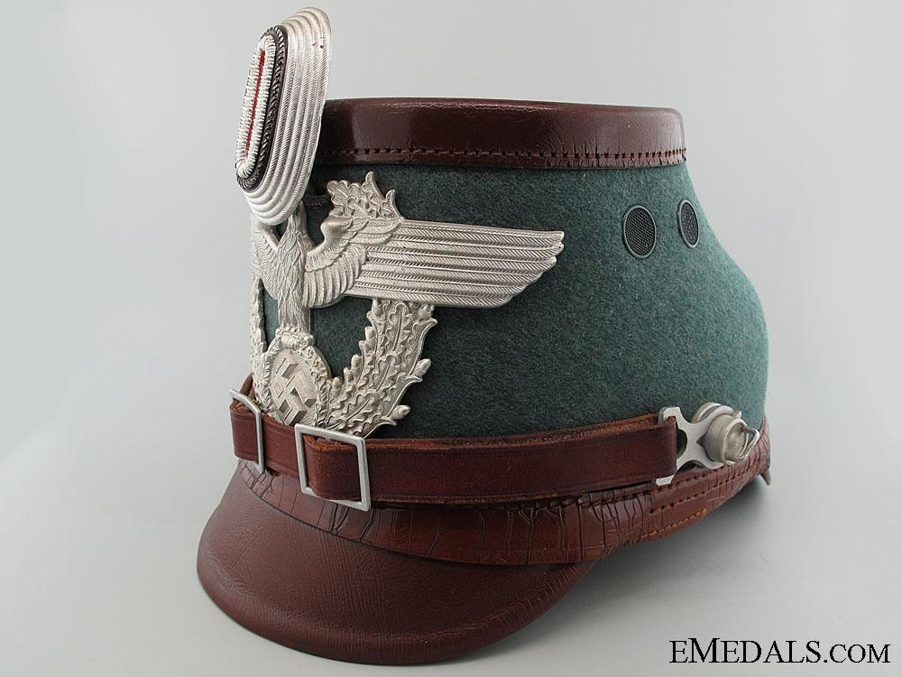 eMedals-Auxiliary Police (Polizei) NCO's Shako
