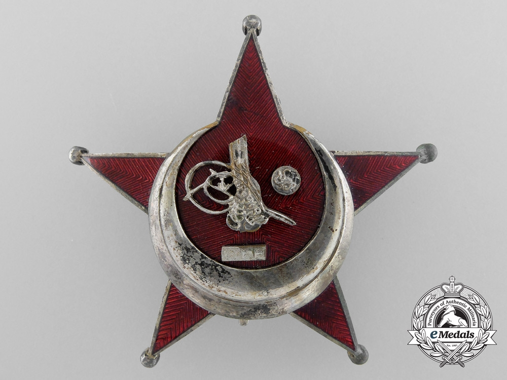 eMedals-A German Made Turkish 1915 Campaign Star (Iron Crescent)