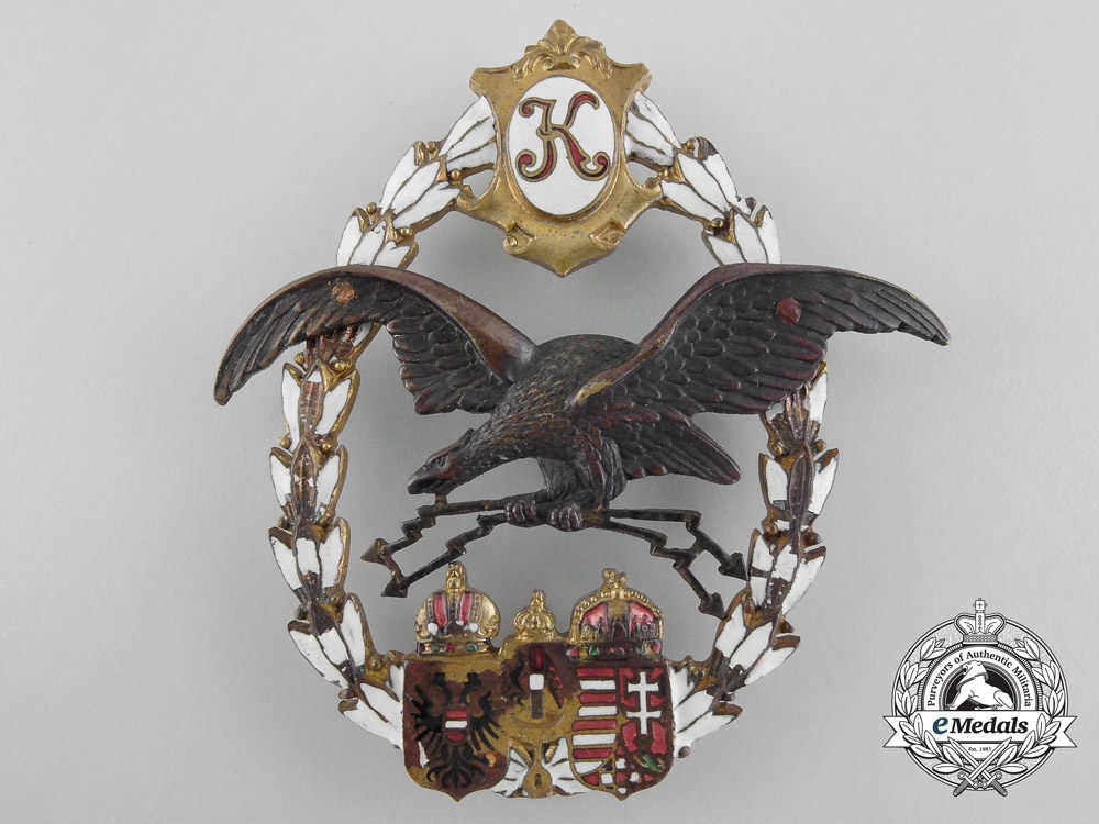 eMedals-Austria, Imperial. A General Flying Badge, by J. Zimbler, c.1917