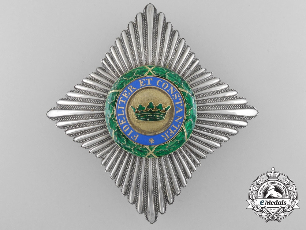 eMedals-A Saxe-Ernestine House Order; Commander's Cross Breast Star