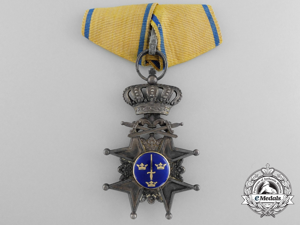 eMedals-A Swedish Order of the Swords; Knight