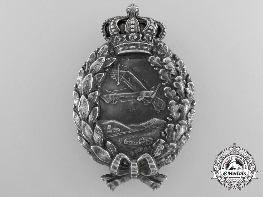 eMedals-An Early First War Bavarian Pilot's Badge by P. Meybauer, Berlin