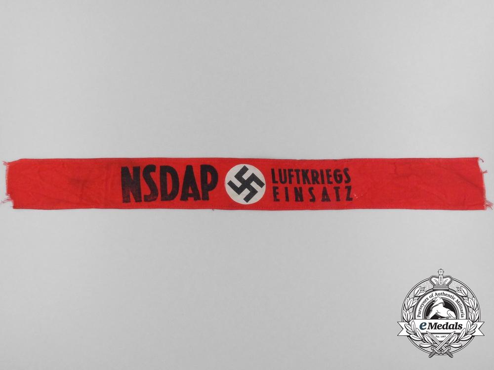 eMedals-An NSDAP Luftkriegs Einsatz (Air War Employment) Armband