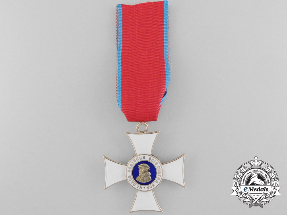 eMedals-A Hessen Order of Philip the Brave in Gold;  First Class