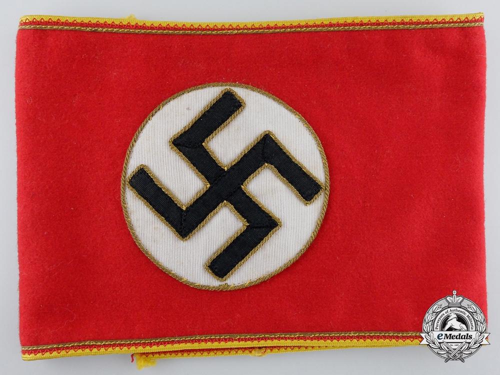 eMedals-An NSDAP Reich Level Mitarbeiter Armband