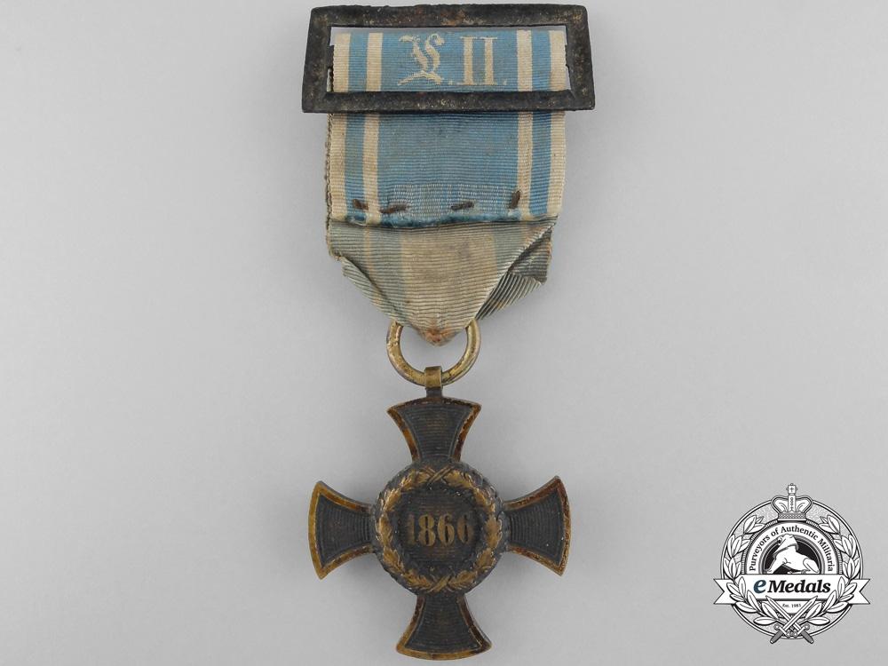 eMedals-An 1866 Bavaria Austrian War Campaign Medal