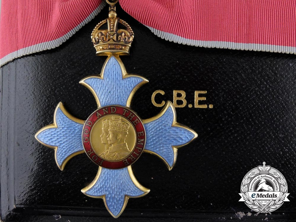 eMedals-A Most Excellent Order of the British Empire; Commander (CBE) with Case
