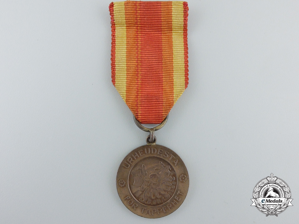 eMedals-A Finnish Medal for Bravery of the Order of Liberty; 2nd Class 1939
