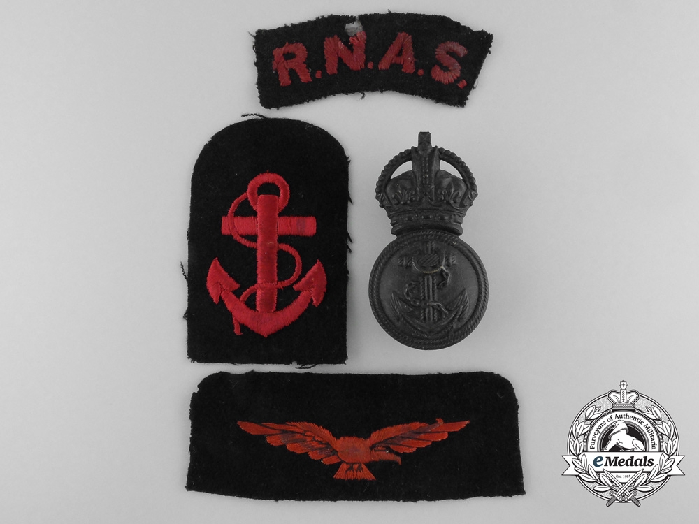 eMedals-A Selection of First War Royal Naval Air Service Insignia