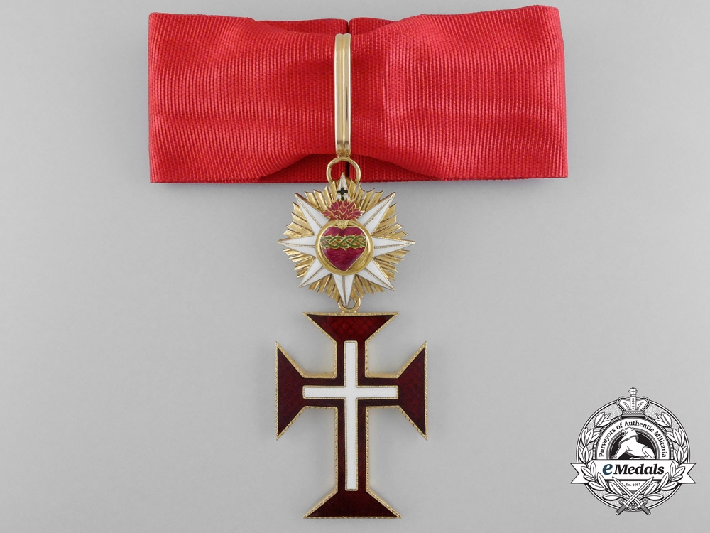 eMedals-A Portuguese Military Order of Christ in Gold, Commander