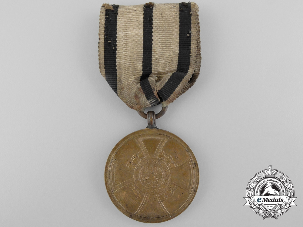 eMedals-An 1848-1849 Prussian Hohenzollern Campaign Medal