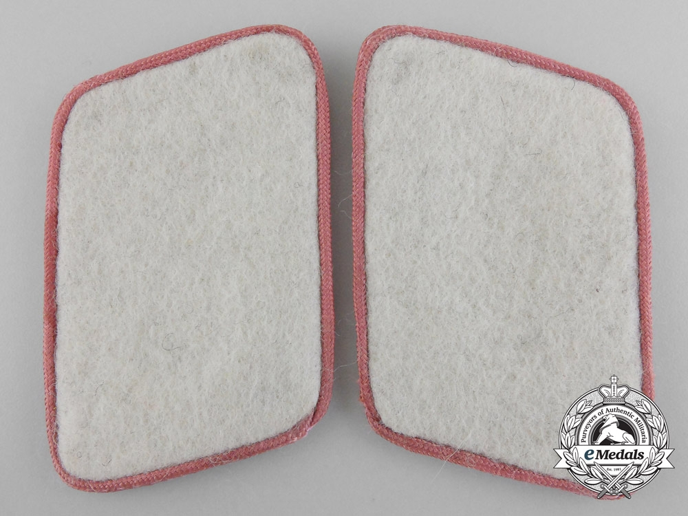 eMedals-A Pair of Hermann Göring Division Mechanized Infantry/Armour/Anti-Tank Collar Tabs