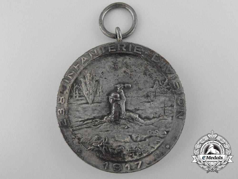eMedals-A 238th Infantry Division Memorial Medal for the Battle of Passchendaele (30.10.1917)