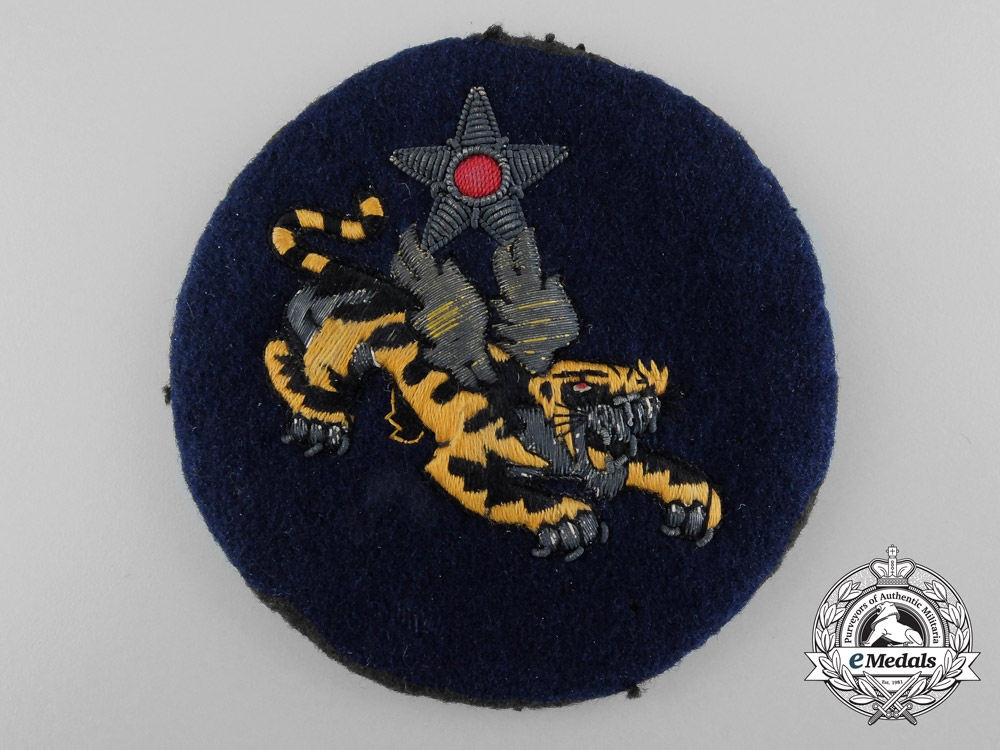 eMedals-United States. A USAAF China Air Task Force (14th AF CATF) Theater-Made Patch