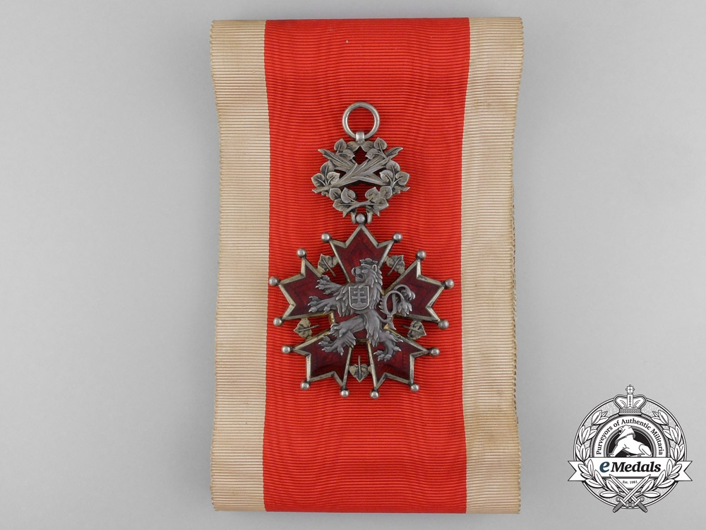 eMedals-A Czechoslovakian Order of the White Lion; Grand Cross
