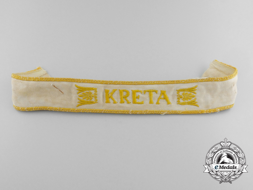 eMedals-A Uniform Removed Kreta Campaign Cufftitle