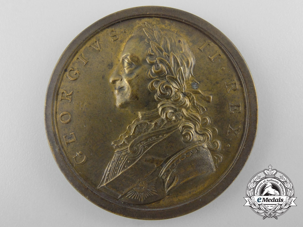 eMedals-A 1759 George II North American Victories Medal
