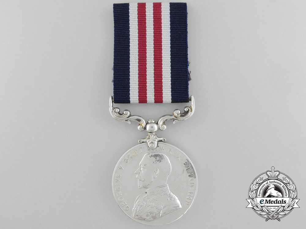 eMedals-Canada. A Military Medal for Gallantry in Action, November 1917