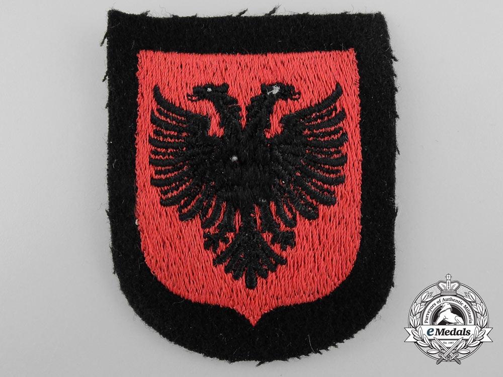 eMedals-An Albanian SS Volunteer Sleeve Shield