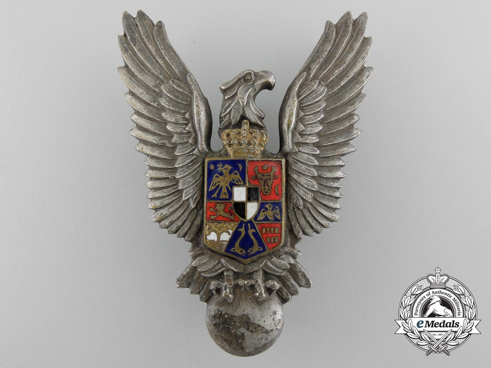 eMedals-Romania, Kingdom. A Pilot's Badge, c.1942