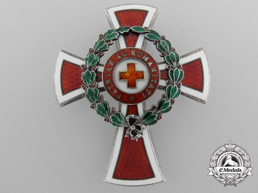 eMedals-An Imperial Austrian Red Cross Officer's Decoration 1864-1914 by Scheid, Wien