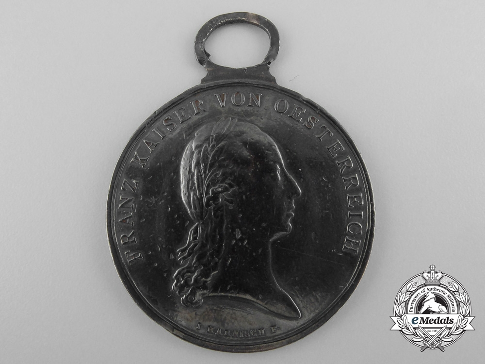eMedals-A Napoleonic Period Austrian Silver Bravery Medal