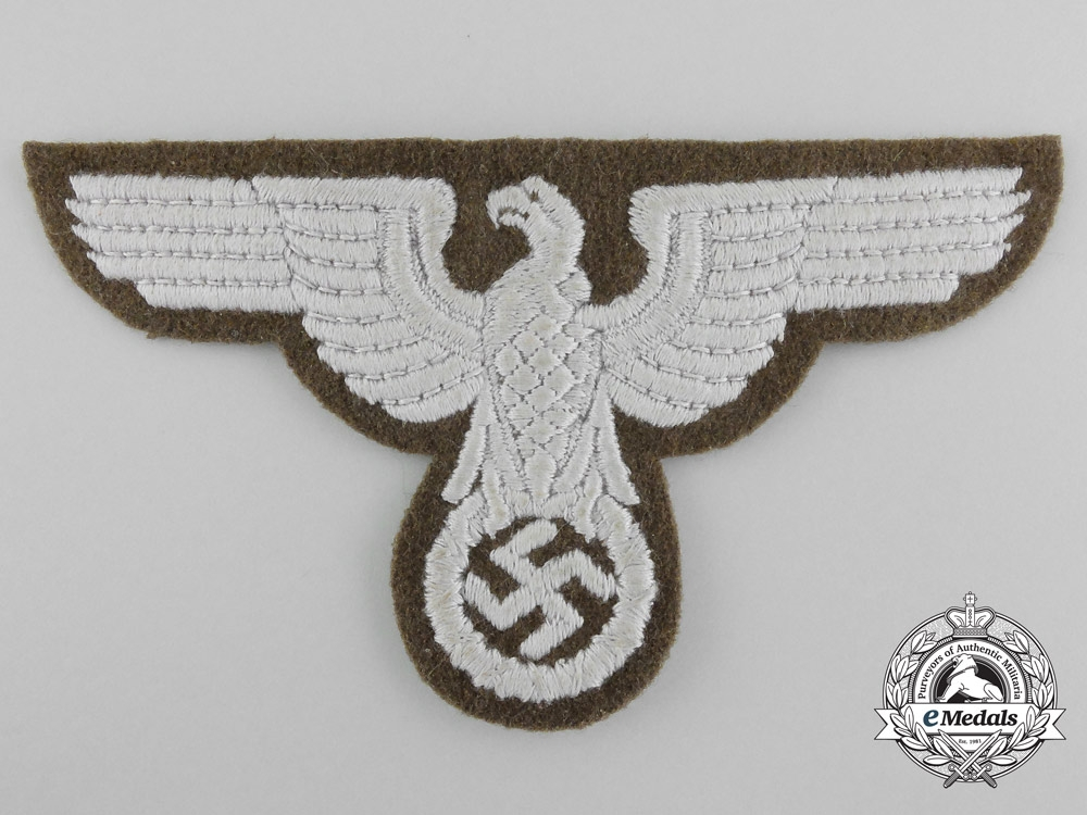 eMedals-Germany, RMBO. A State-Ministry for the Occupied Eastern Territories Tunic Eagle