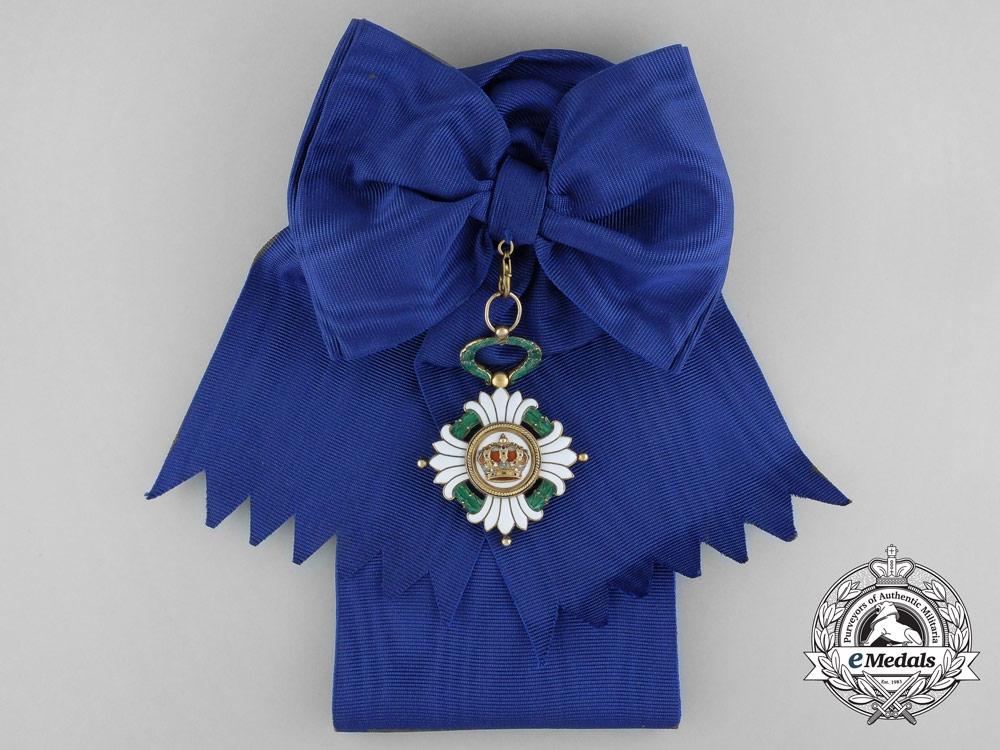 eMedals-An Order of the Yugoslavian Crown; Grand Cross Badge