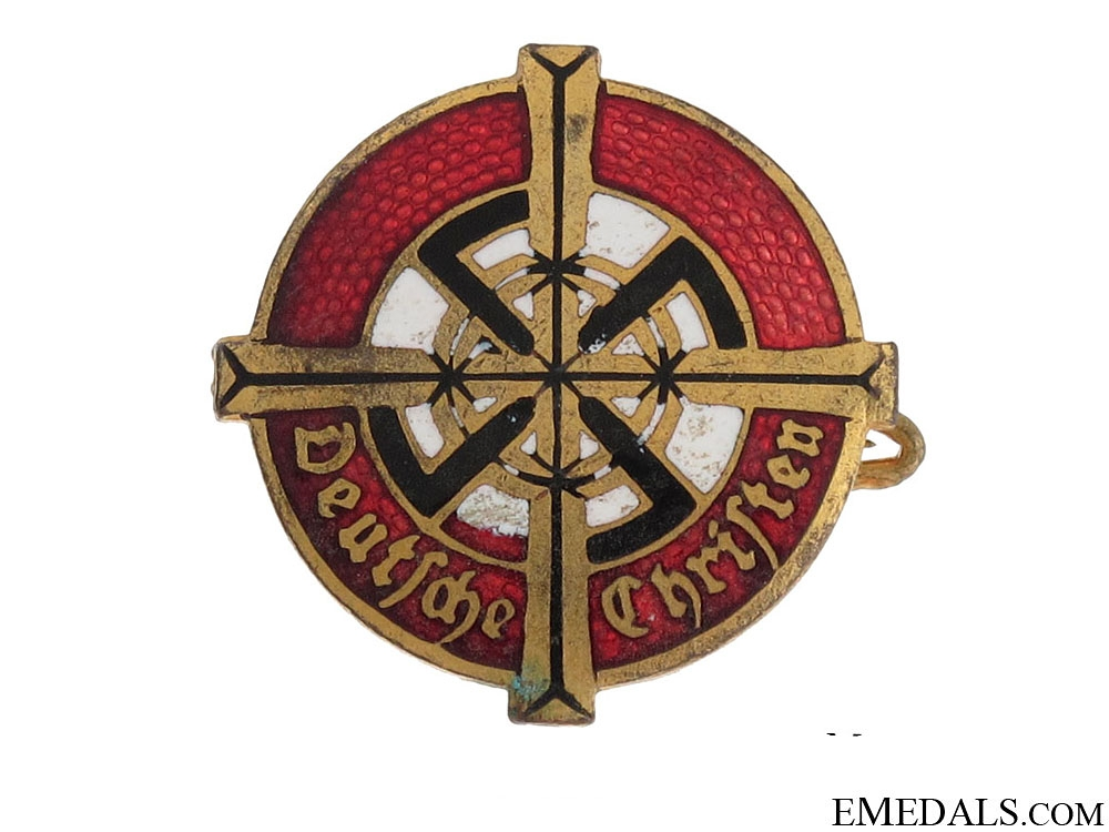 eMedals-Badge of the German Christians