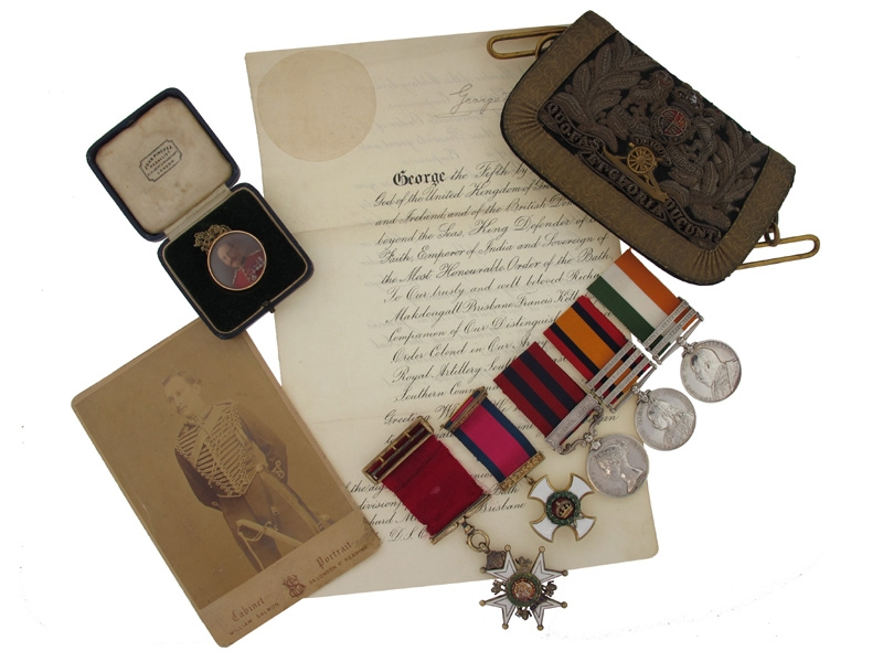 eMedals-The Boer War Awards of Brigadier-General Kelly