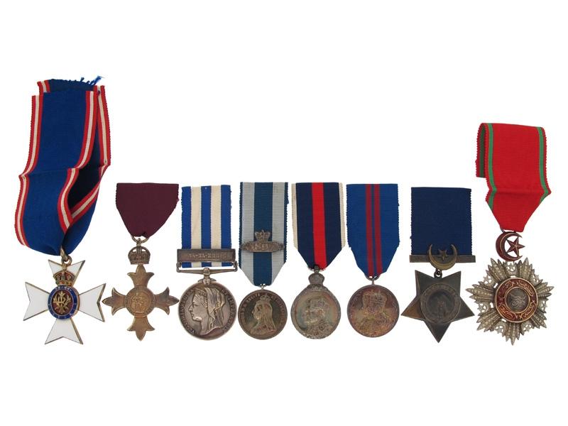 eMedals-The Awards of Colonel Waller, C.V.O., O.B.E.