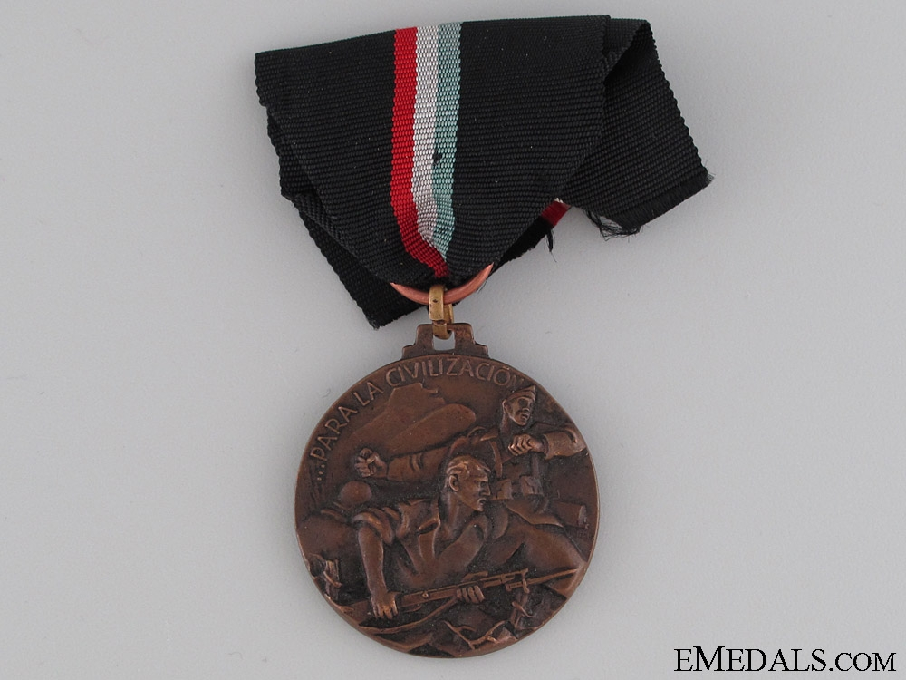 eMedals-Battle of Bilbao Commemorative Medal 1937