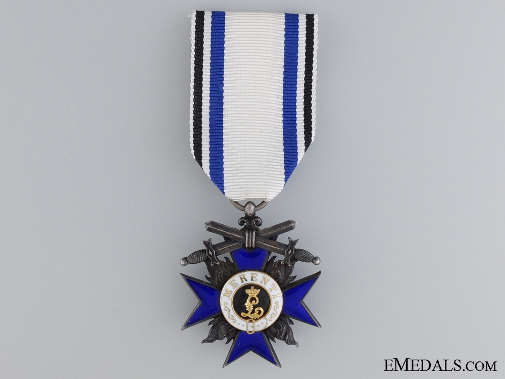 eMedals-Bavarian Order of Military Merit; Knights Cross Fourth Class with Swords