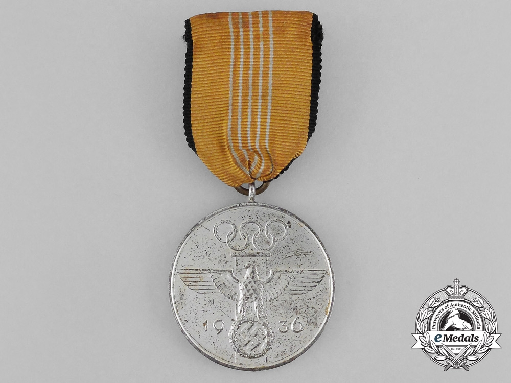 eMedals-A 1936 Berlin Olympic Games Commemorative Medal