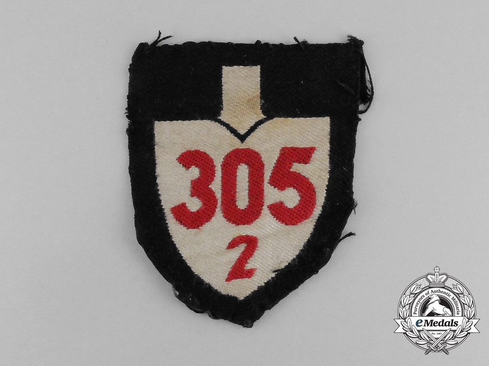 eMedals-A Third Reich Period RAD (National Labour Service) Unit Sleeve Insignia