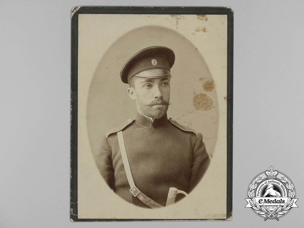 eMedals-Russia, Imperial. A Studio Photo of an Imperial Soldier