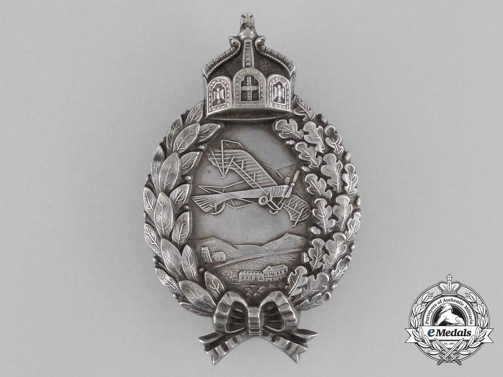 eMedals-A First War Prussian Pilot's Badge by Carl Dilenius