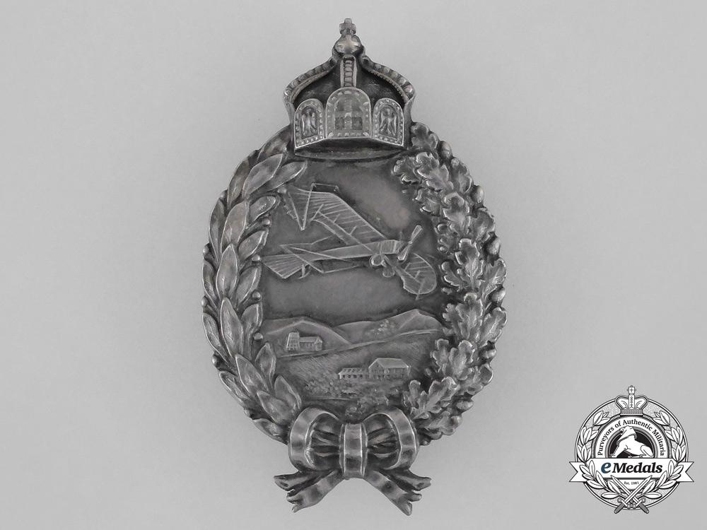eMedals-A First War Prussian Pilot Badge by Gebrüder Wegerhoff