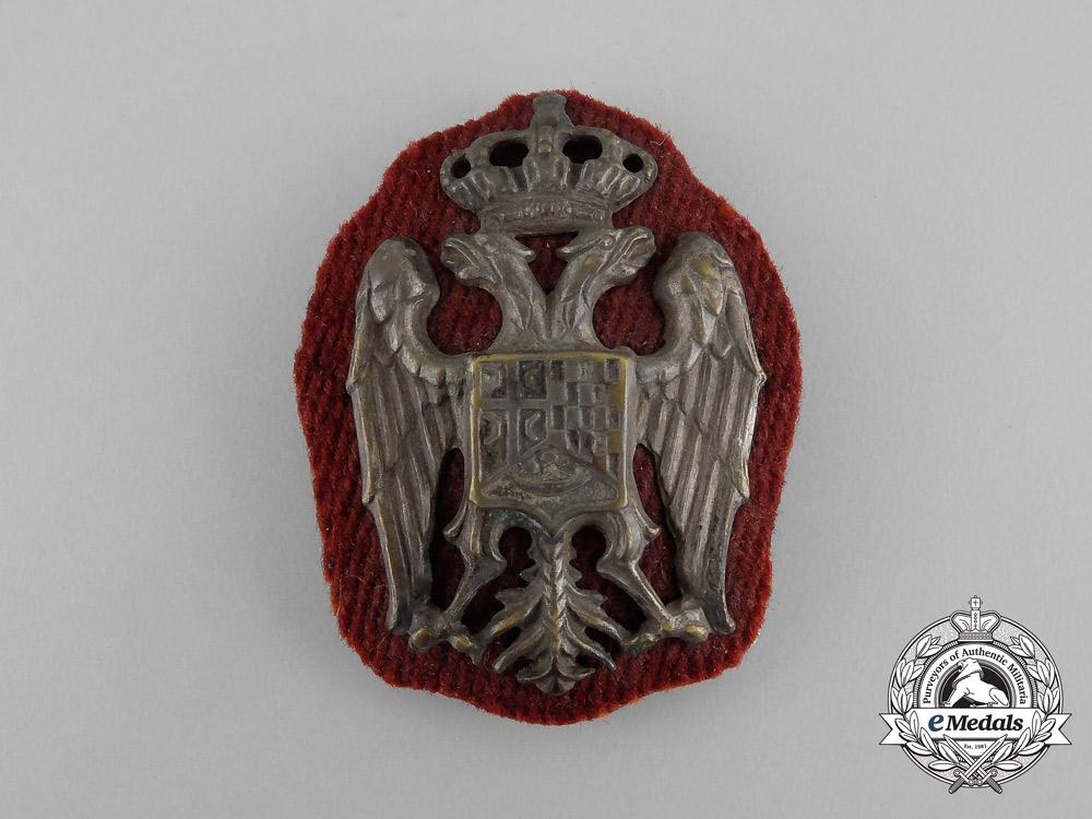 eMedals-A Serbian Officer's Cap Badge, c. 1930