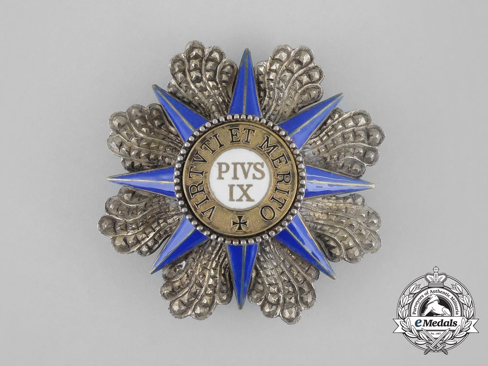 eMedals-An Order of Pius; Grand Cross Breast Star