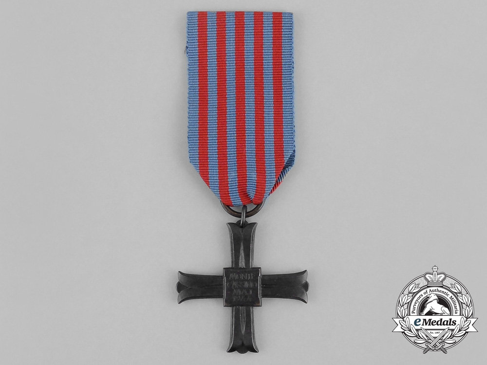 eMedals-A Polish Commemorative Cross of Monte Cassino 1944