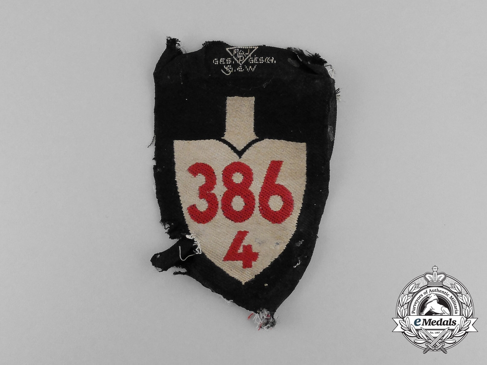 eMedals- A Third Reich Period RAD (National Labour Service) Unit Sleeve Insignia