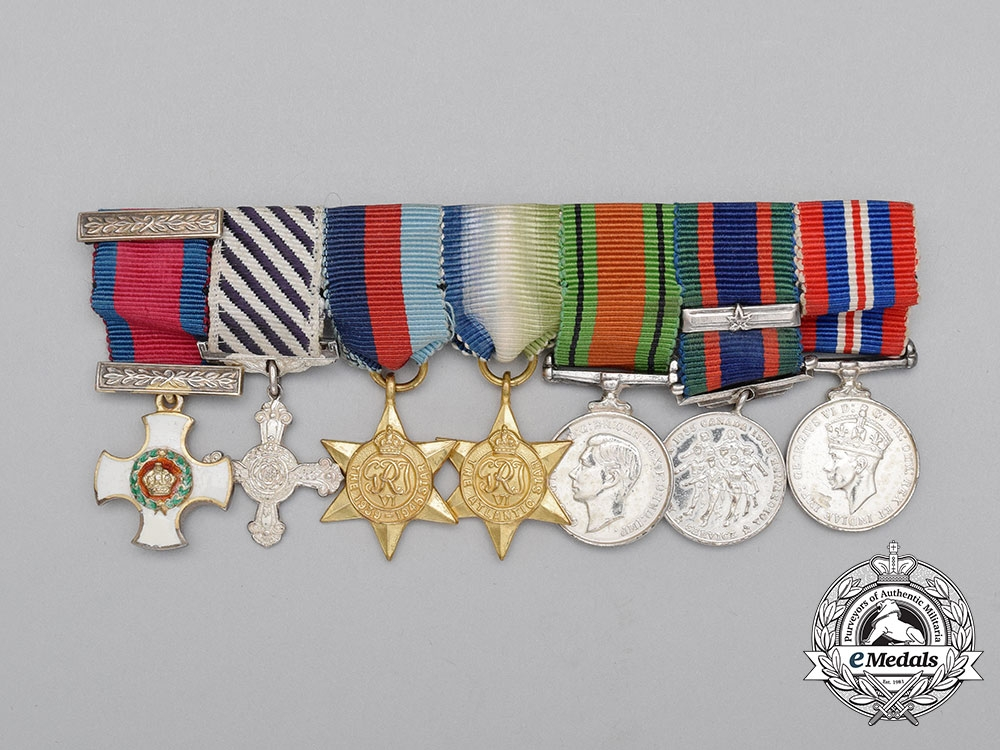 eMedals-A Miniature Canadian DSO & DFC Medal Bar