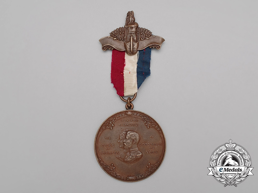 eMedals-A Rare 1901 Assembly of Indian Chiefs Peace Medal