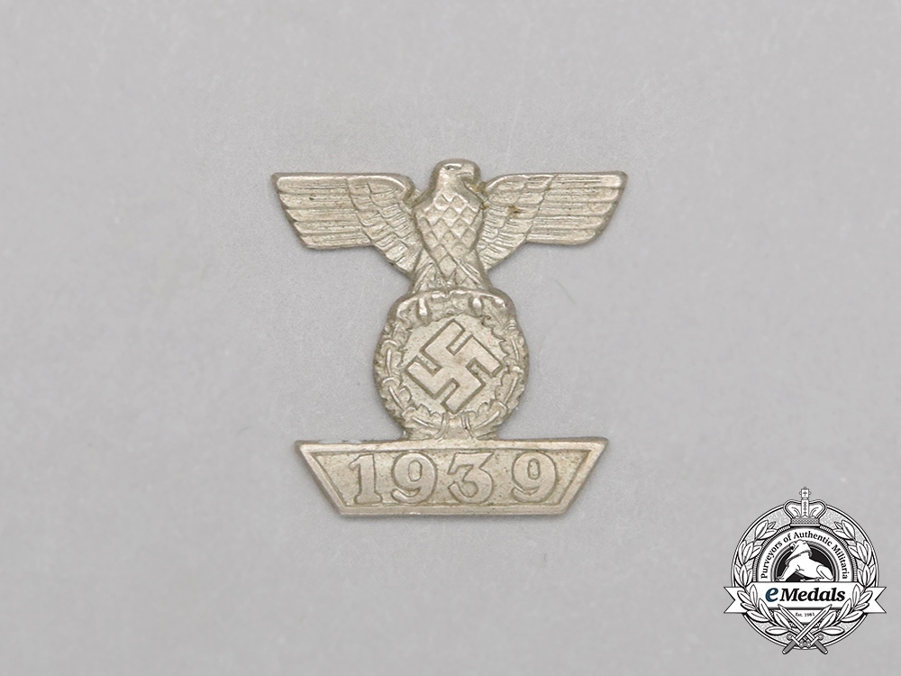 eMedals- A Miniature Clasp for the Iron Cross 2nd Class for a Ribbon Bar
