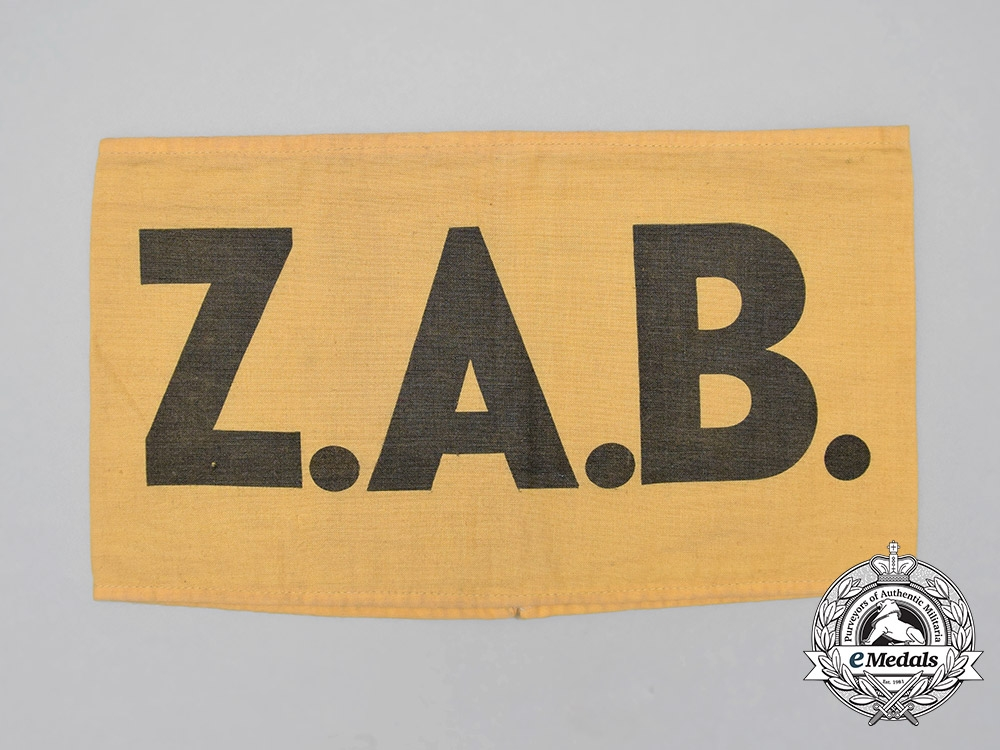 eMedals-A German Imperial Battalion of Civil Workers (ZAB = Zivilarbeitersbataillon) Armband