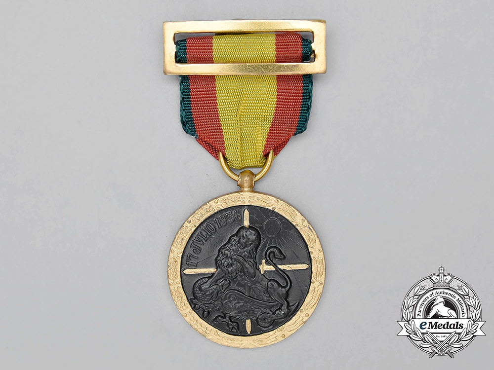 eMedals-A Spanish Civil War Medal for the Campaign of 1936-1939