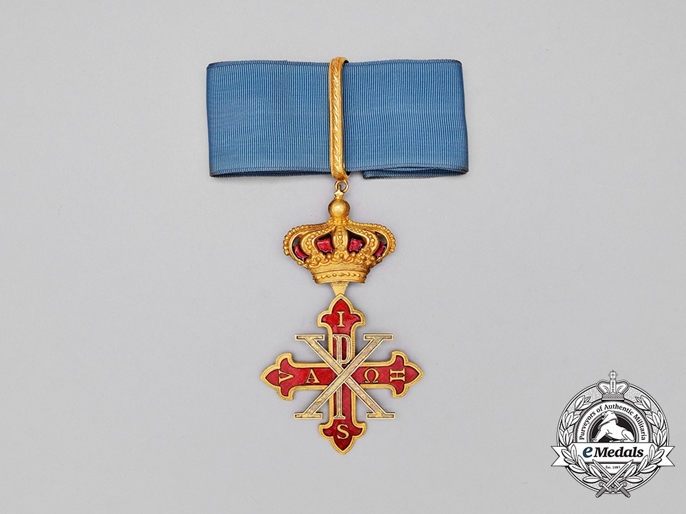 eMedals-A Sacred Military Constantinian Order of Saint George, Neck Badge