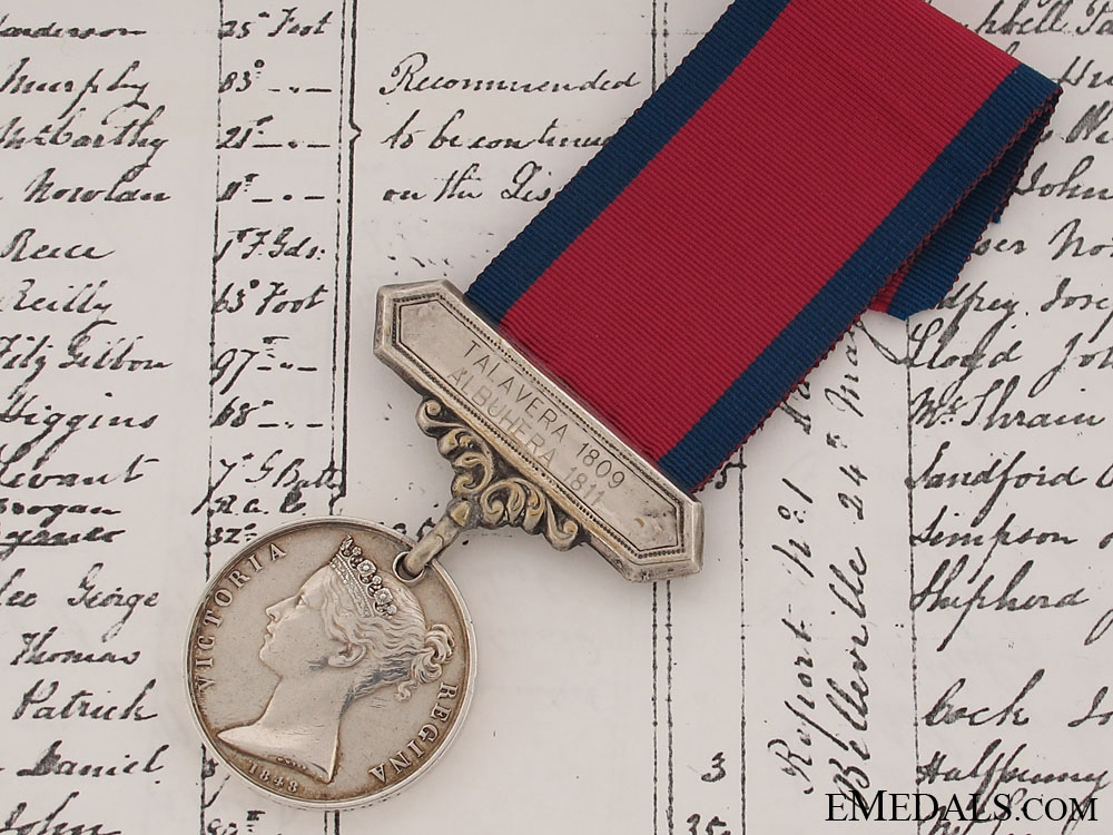 eMedals-A Military General Service Medal to the 29th Foot