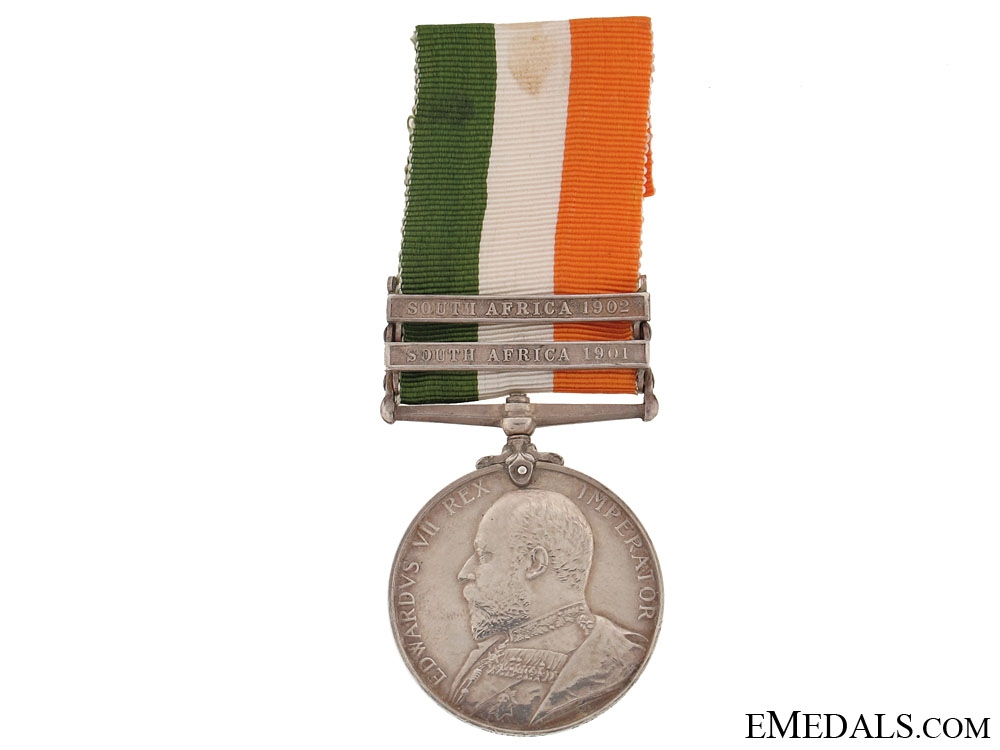 eMedals-King's South Africa Medal, 1901-1902